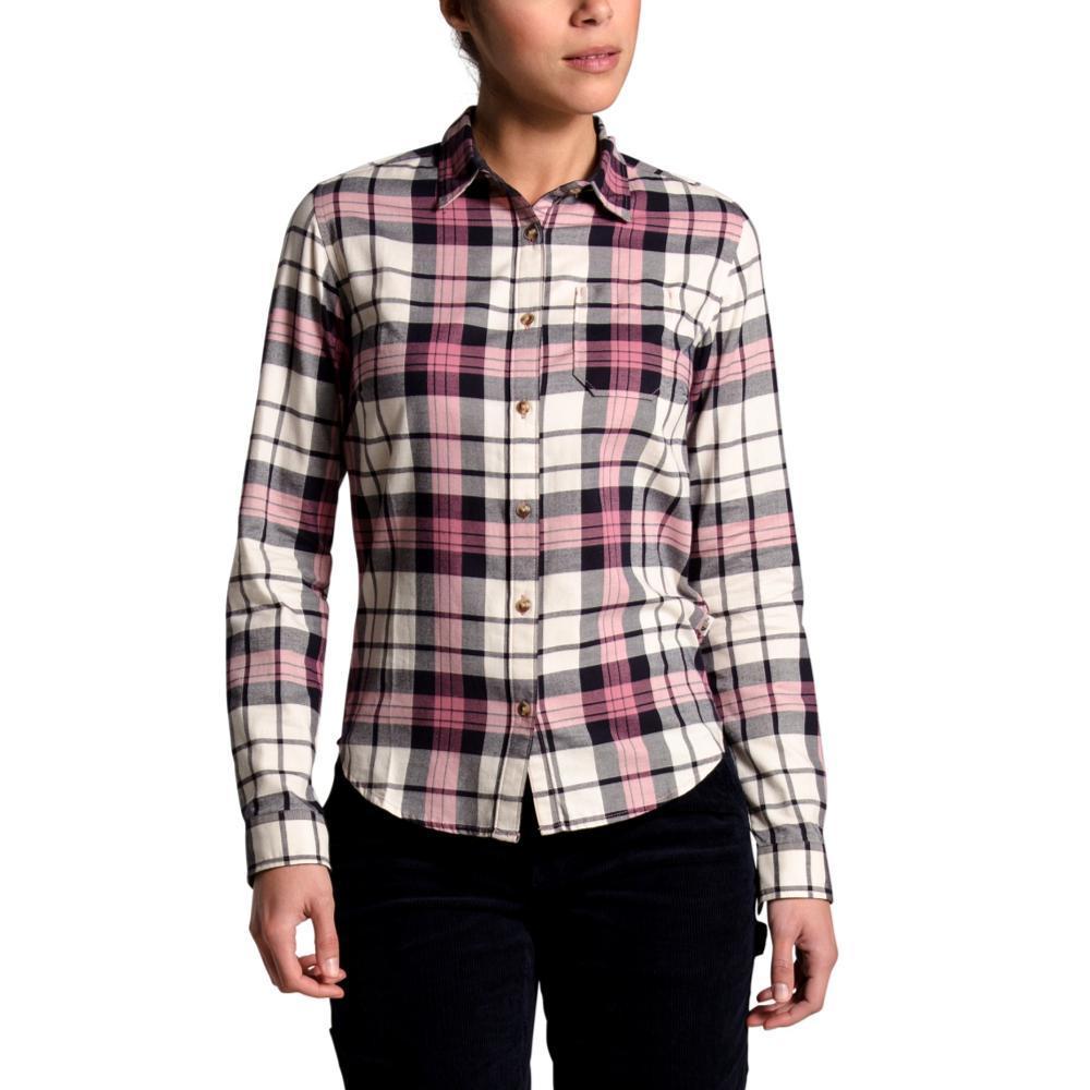 The North Face Women's Berkeley Long Sleeve Girlfriend Shirt MESAROSE_TQG