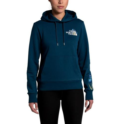 The North Face Women's Himalayan Bottle Source Hoodie Teal_n4l