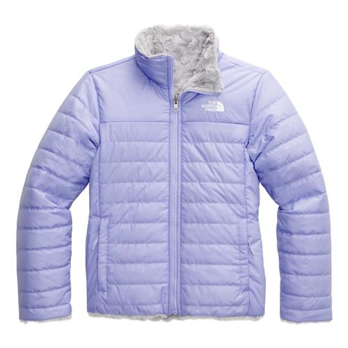 The North Face Girls Reversible Mossbud Swirl Jacket Lavndr_w23