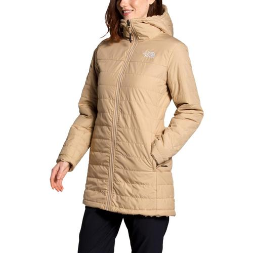 The North Face Women's Mossbud Insulated Reversible Parka Khaki_h7e