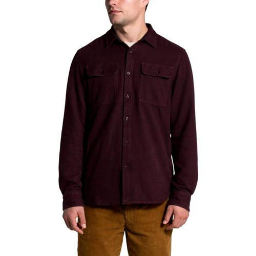 The North Face Men's Long Sleeve Arroyo Flannel Shirt Brown_6x5