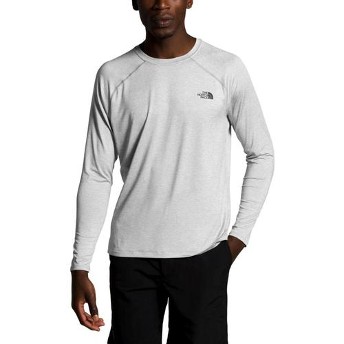 The North Face Men's Hyperlayer FD Long Sleeve Shirt Ltgrey_dyx