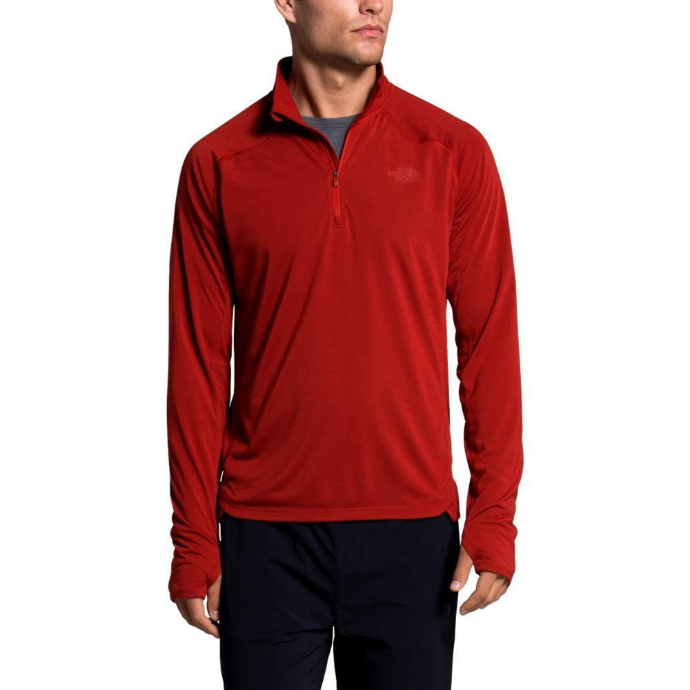 The North Face Men's Essential 1/4 Zip Pullover RED_2V5