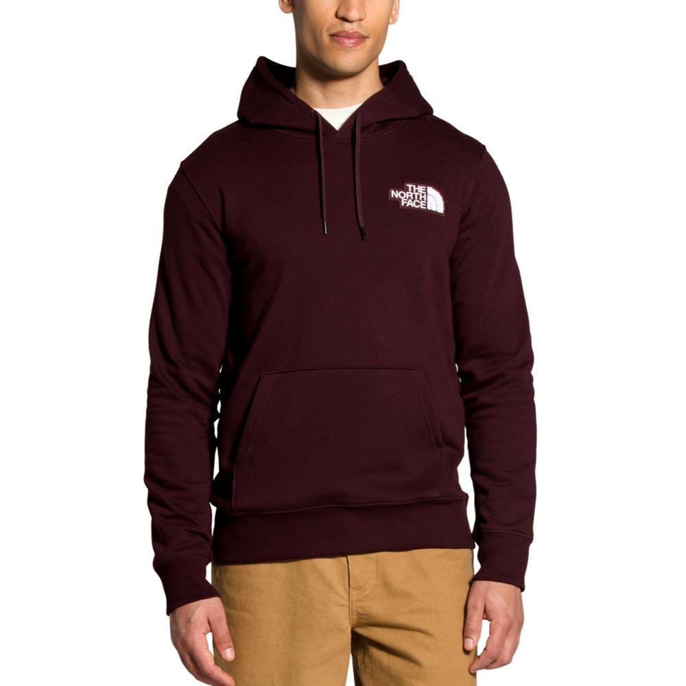 The North Face Men's Patch Pullover Hoodie BROWN_6X5