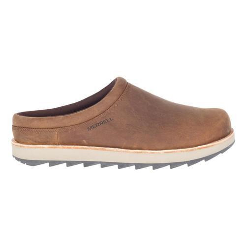 Merrell Men's Juno Clog Leather Slip Ons Walrus