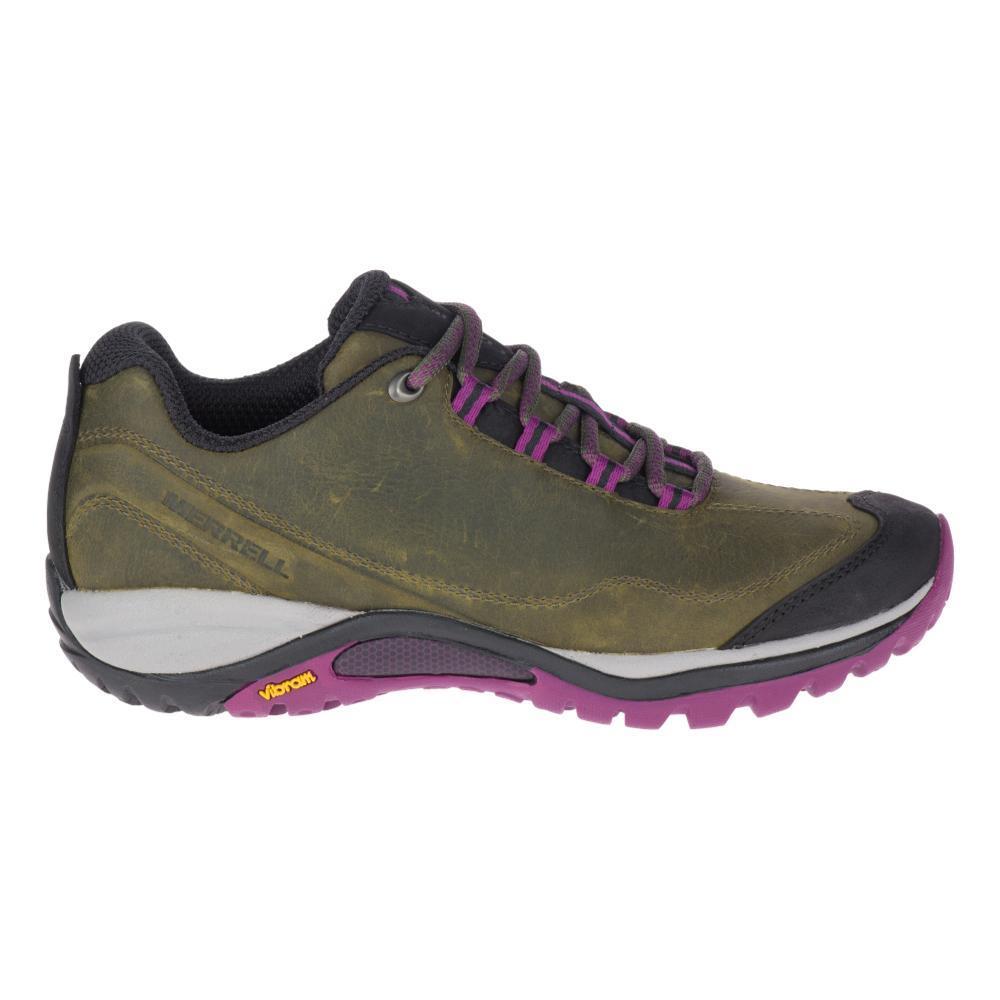 Merrell Women's Siren Traveller 3 Trail Shoes OLIVE.PURP