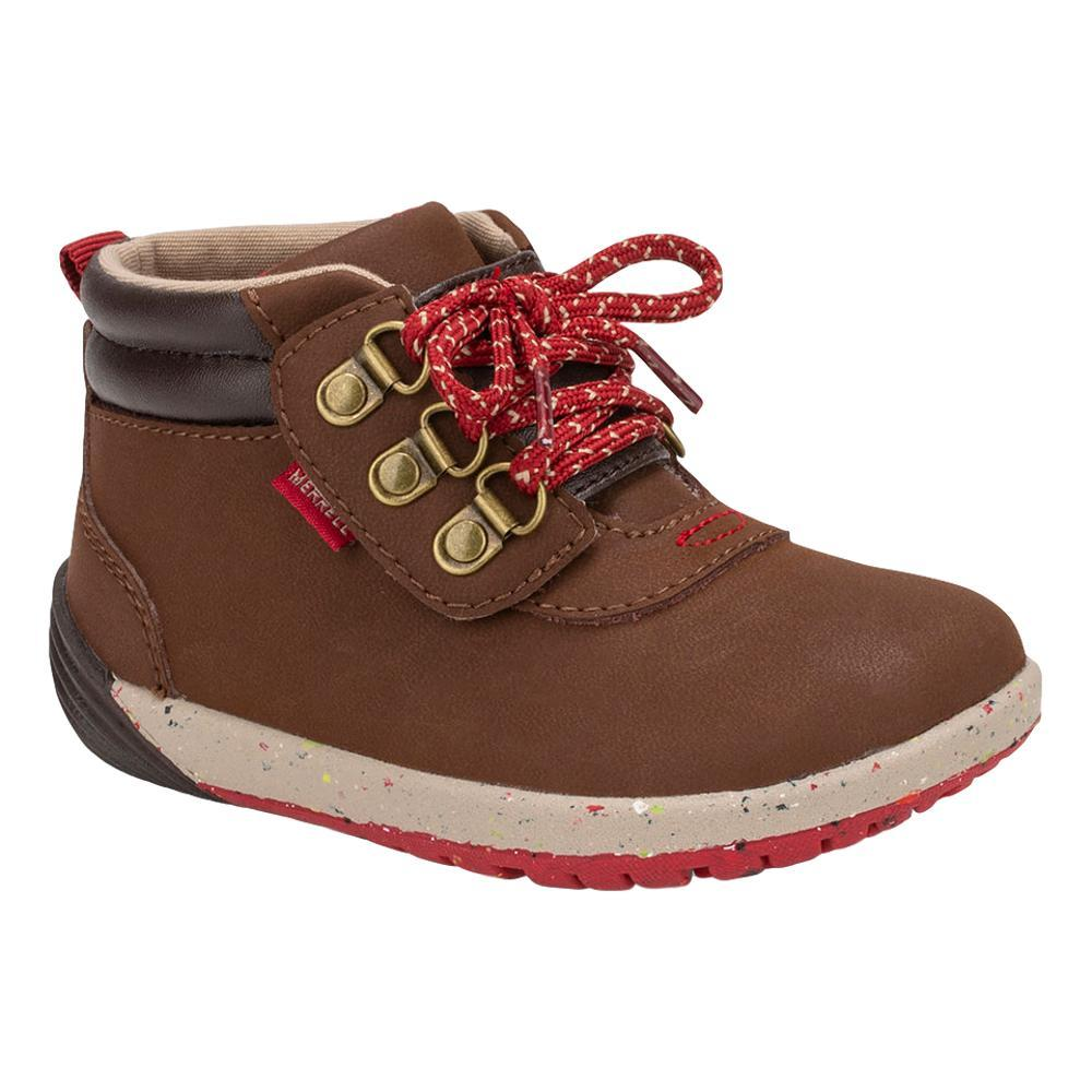 Merrell Little Kids Bare Steps Boots Jr. 2.0 BROWN