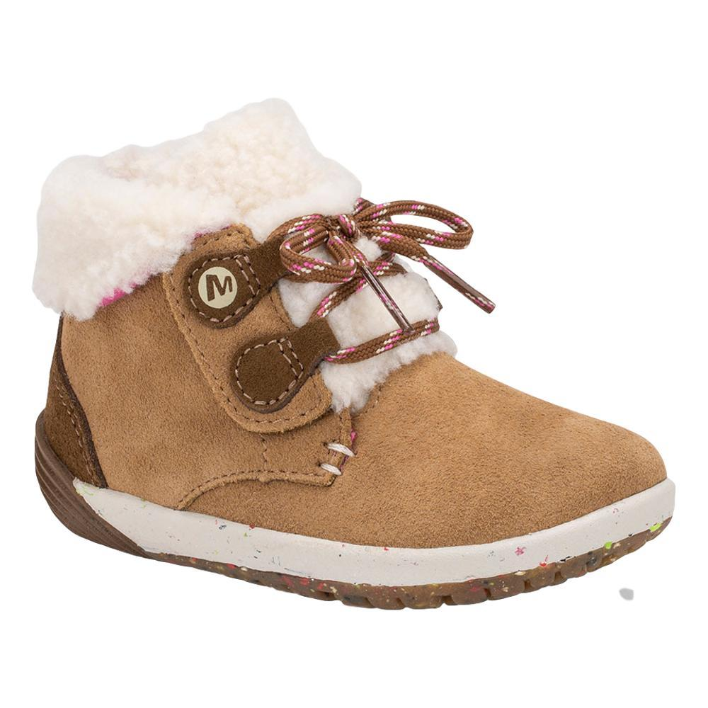 Merrell Little Kids Bare Steps Cocoa Jr. Boots CHESTNUT