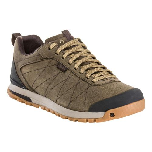 Oboz Men's Bozeman Low Leather Shoes Canteen