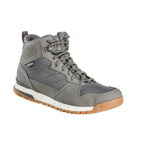 Oboz Men's Bozeman Mid Hiking Boots Steel