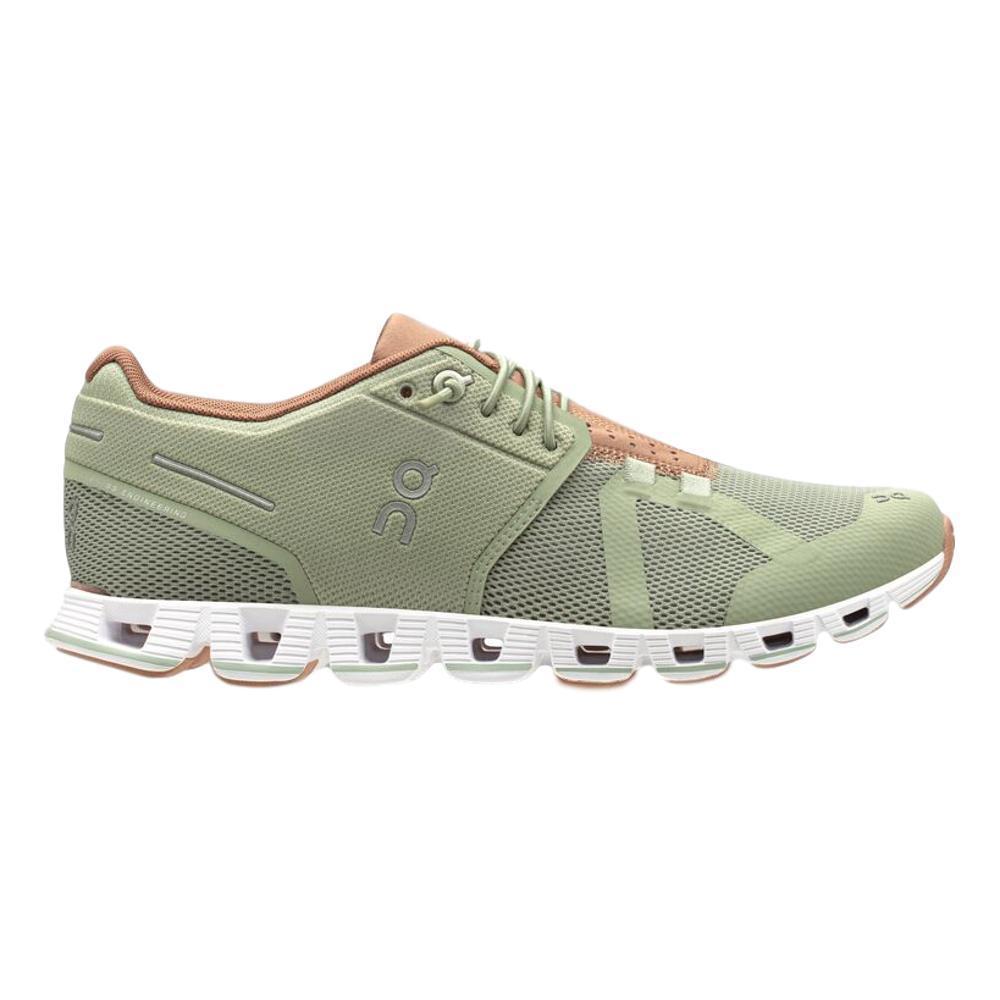 On Women's Cloud Running Shoes LEAF.MOCHA