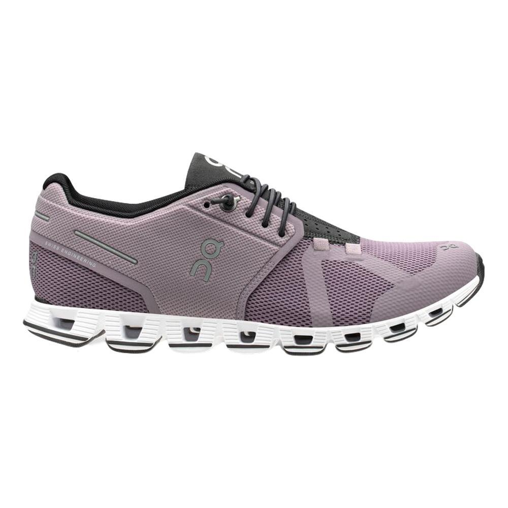 On Women's Cloud Running Shoes LILAC.BLK