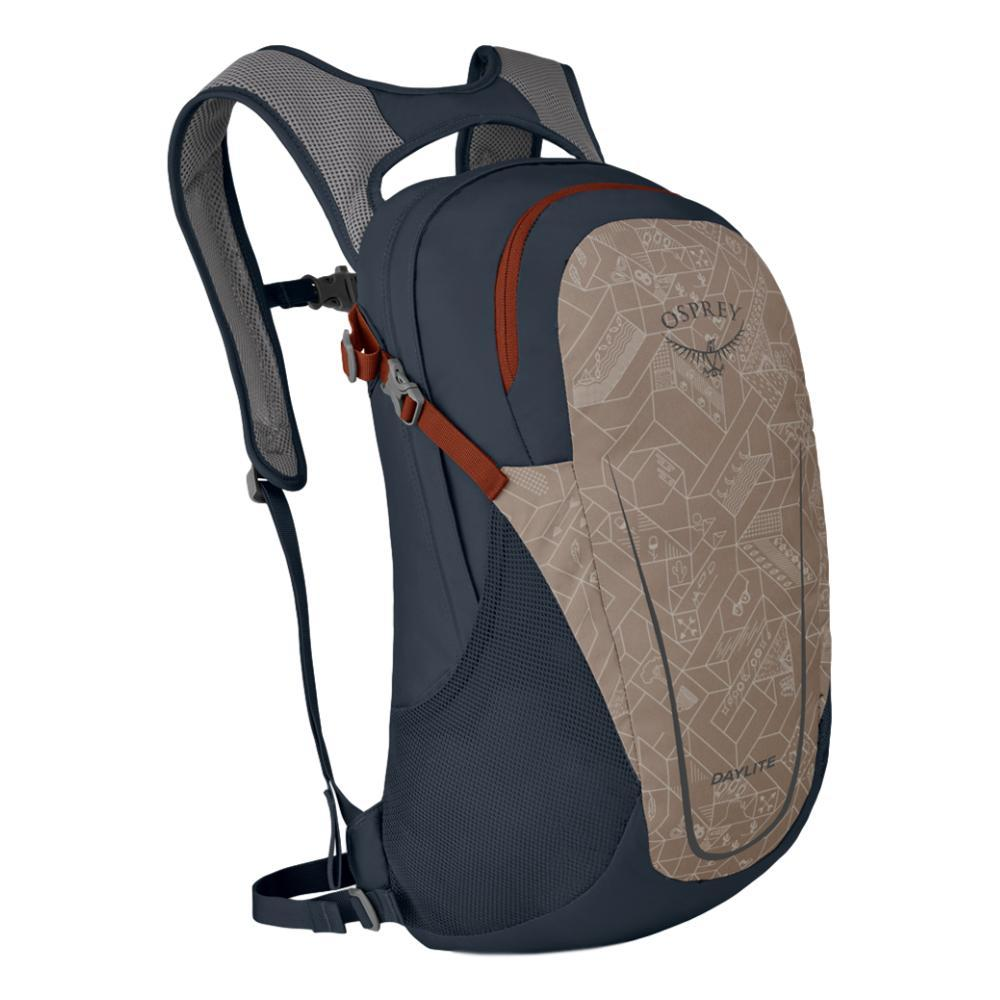 Osprey Daylite 13 Pack CAM.PRNT_CHES.TAN
