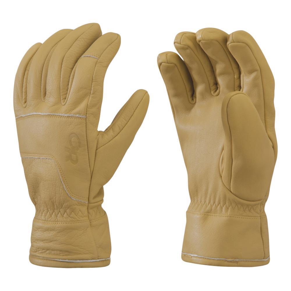 Outdoor Research Aksel 3 Finger Work Gloves NATRL_1160