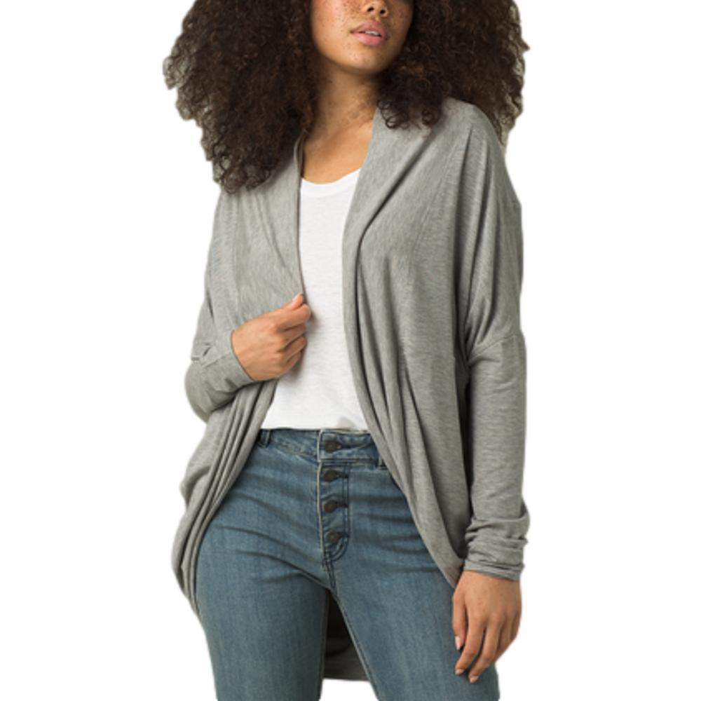prAna Women's Foundation Munra Wrap HTHRGREY
