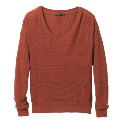 prAna Women's Milani V-Neck Sweater Sundried