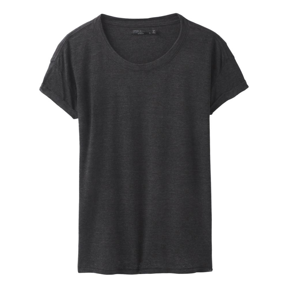 prAna Women's Cozy Up T-Shirt Plus CHARCOALHTHR
