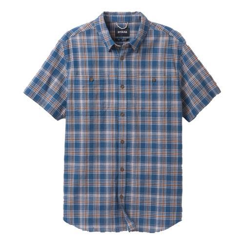 prAna Men's Watchman Shirt Admiralblue
