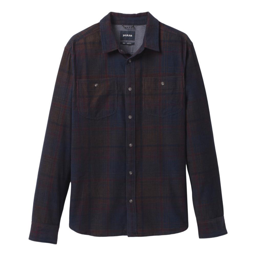 prAna Men's Dooley Long Sleeve Shirt NAUTICAL