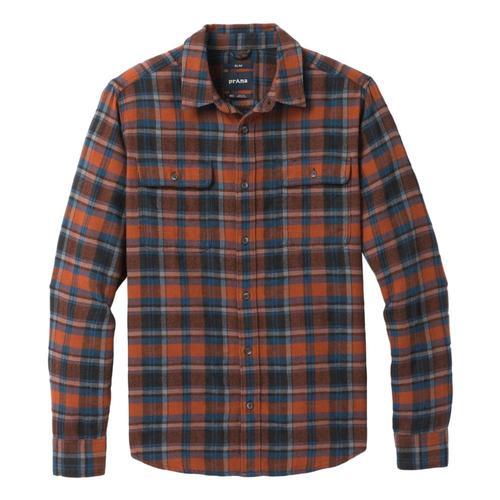 prAna Men's Westbrook Flannel Cedar