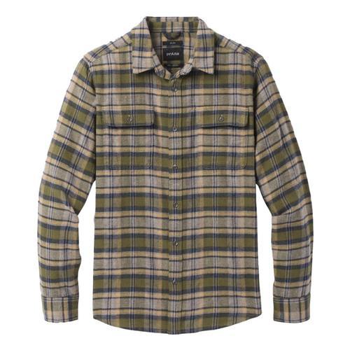 prAna Men's Westbrook Flannel Vertgreen