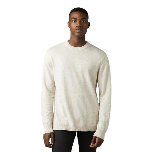 prAna Men's Driggs Crew Sweater Natural