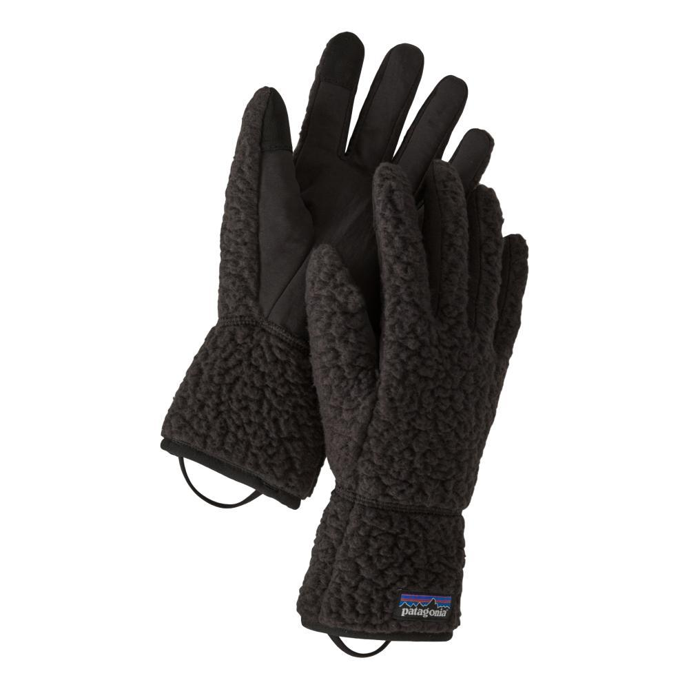 Patagonia Retro Pile Fleece Gloves BLACK_BLK