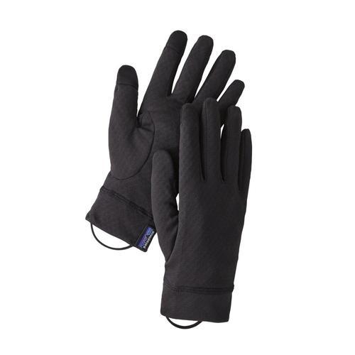 Patagonia Capilene Midweight Liner Gloves Black_blk