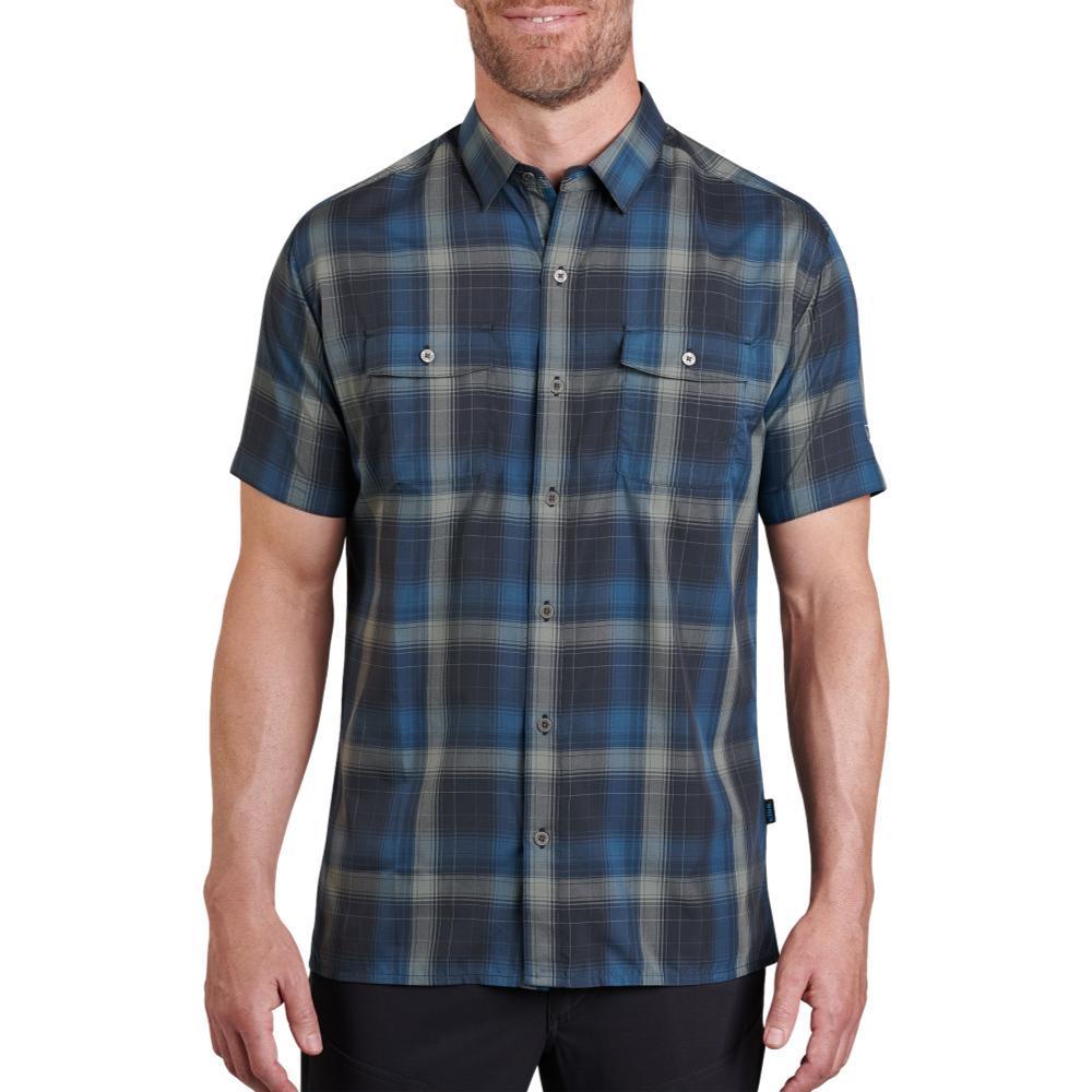 KUHL Men's Response Shirt BLUELAGOON