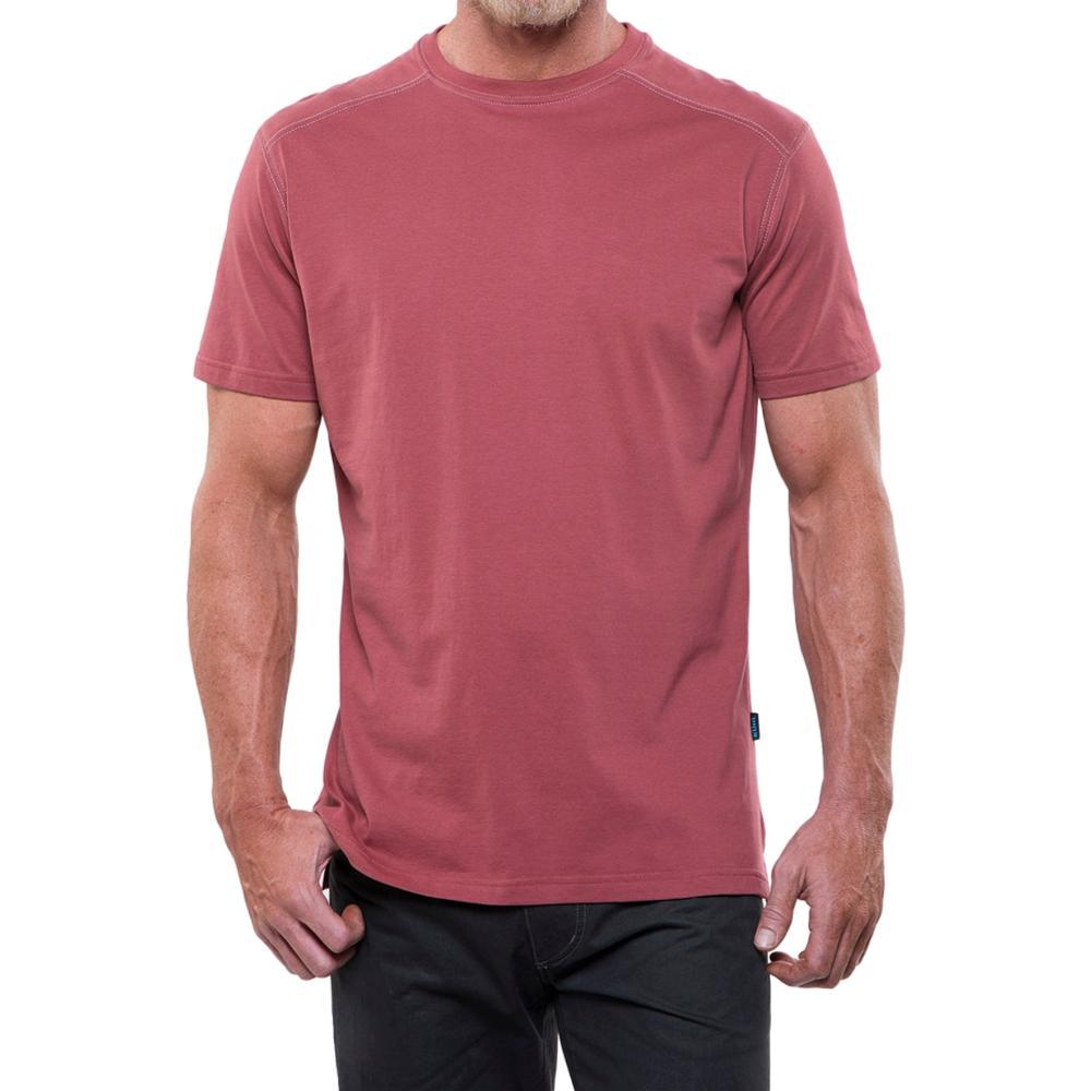 KUHL Men's Bravado Short Sleeve Shirt SUNTOMATO