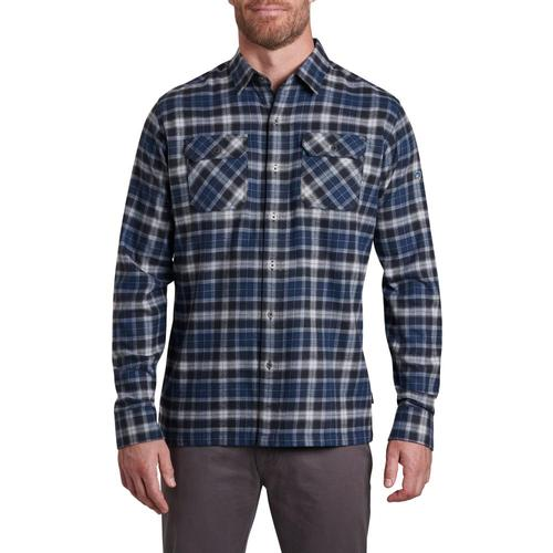 KUHL Men's Dillingr Long Sleeve Flannel Shirt Interstellar