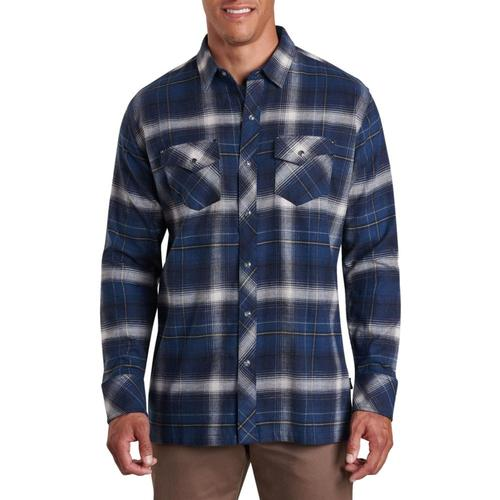 KUHL Men's Lowdown Shirt Galaxy