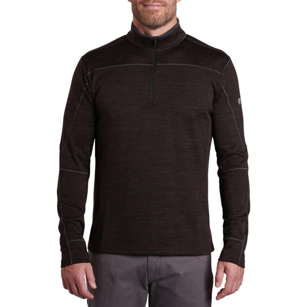 KUHL Men's Ryzer Shirt BLKCOFFEE