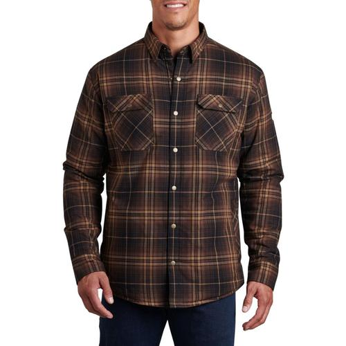 KUHL Men's Joyrydr Shirt Jacket Umberbrown