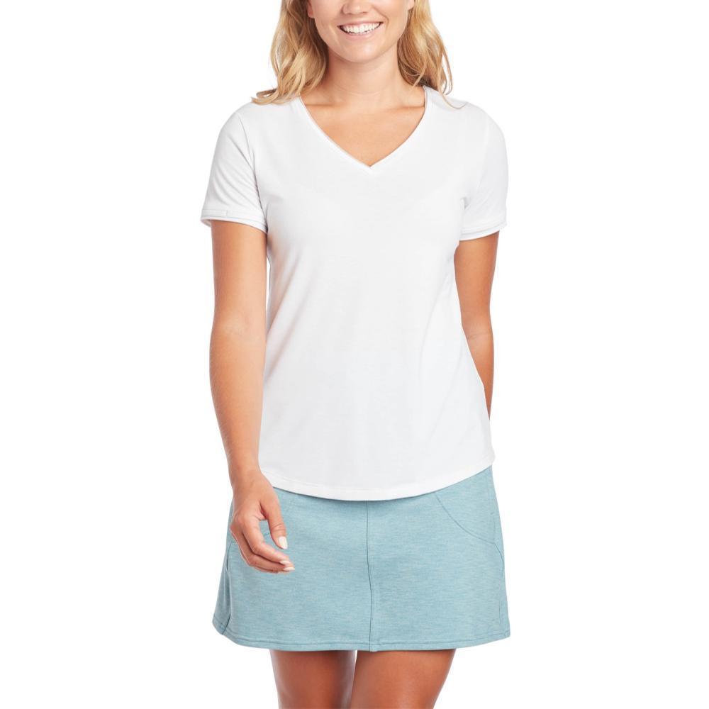 KUHL Women's Juniper Short Sleeve Shirt WHITE_WH