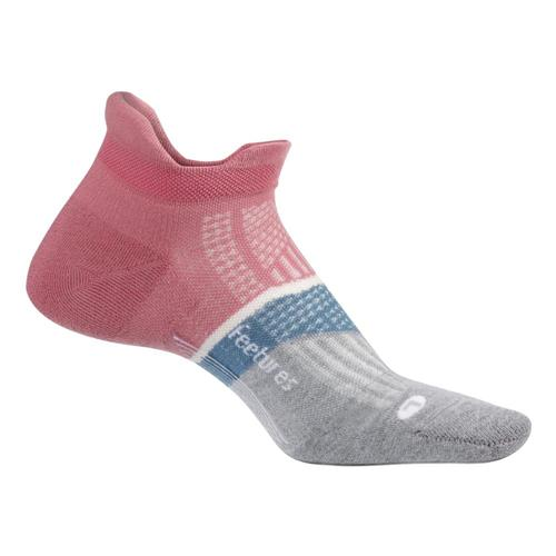 Feetures Unisex Elite Light Cushion No Show Tab Socks Heathrose
