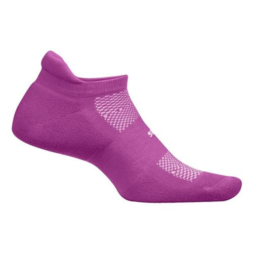 Feetures High Performance Ultra Light No Show Tab Socks Purpleaddt