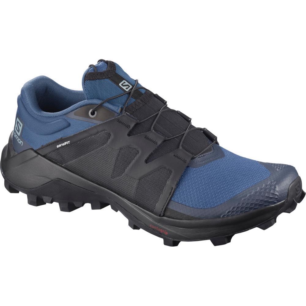 Salomon Men's Wildcross Trail Running Shoes DKDEN.BK.NVY