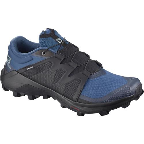 Salomon Men's Wildcross Trail Running Shoes Dkden.Bk.Nvy