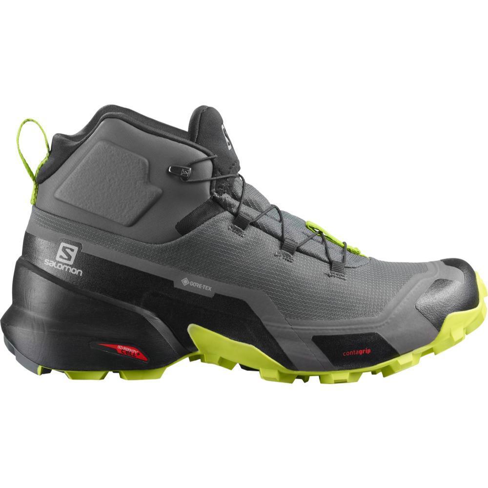 Salomon Men's Cross Hike Mid GTX Hiking Boots MGNT.BLK.LIM