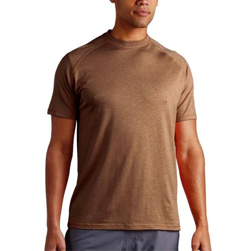 tasc Men's Carrollton Heather Fitness T-Shirt Canyon_213