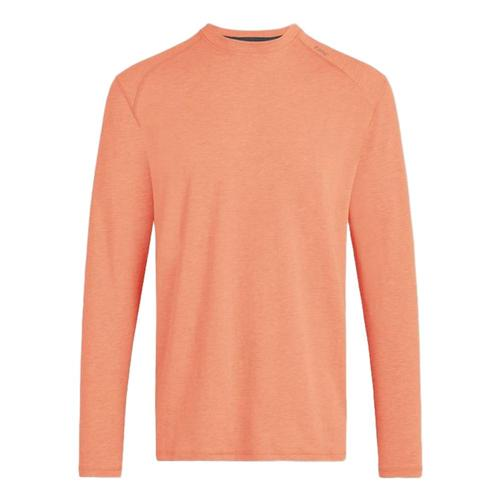 tasc Men's Carrollton Heather Long Sleeve Fitness T-Shirt Sahara_812