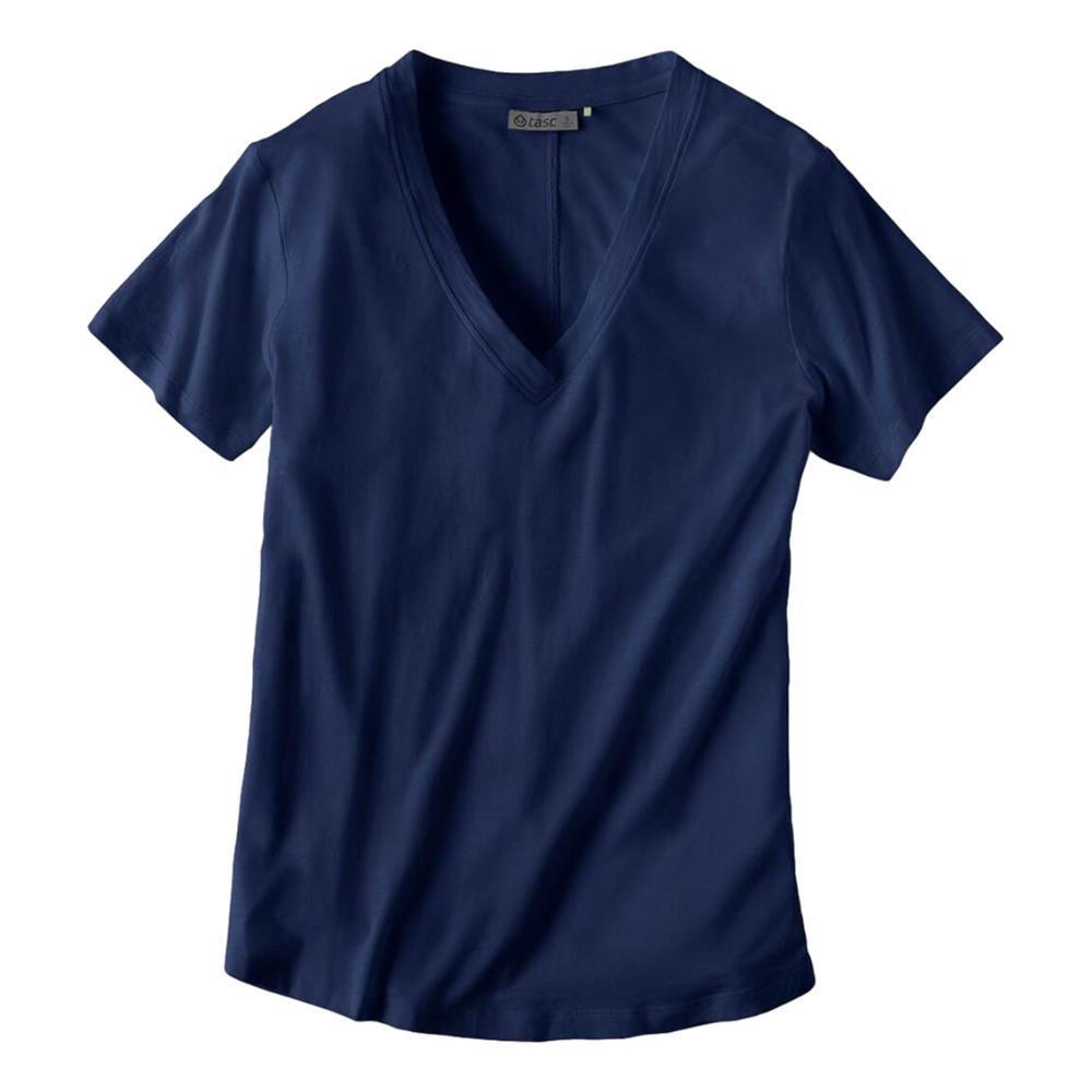 tasc Women's Easy V-Neck T-Shirt MARINE_404