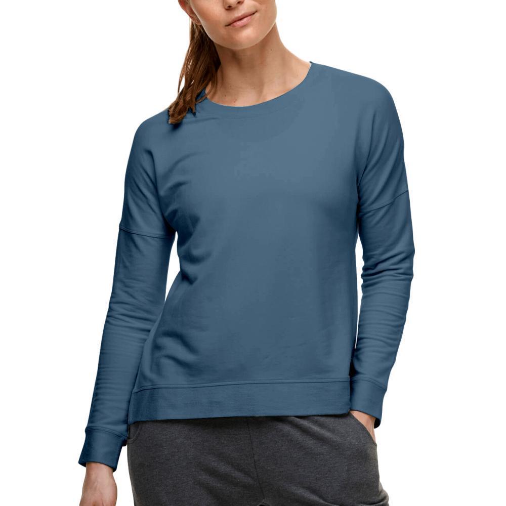 tasc Women's Legacy French Terry Casual Sweatshirt INDIGO_407