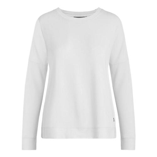 tasc Women's Legacy French Terry Casual Sweatshirt White_100
