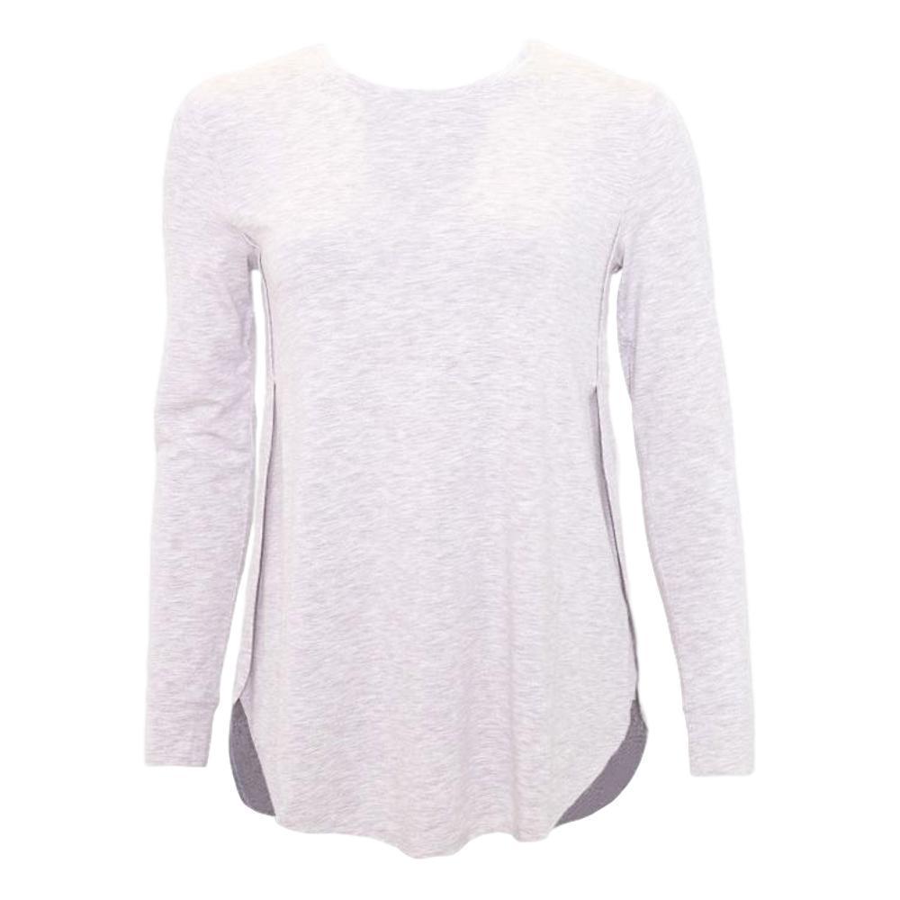 tasc Women's Jenny Long Sleeve Active Shirt LTGREY_7