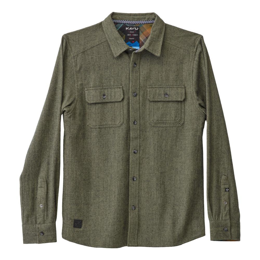 KAVU Men's Franklin Long Sleeve Shirt THYME_1308