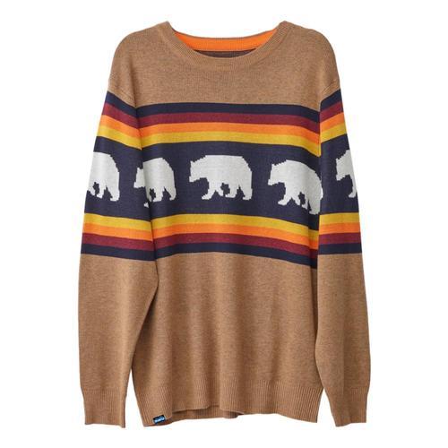 KAVU Men's Highline Sweater Bear_1071
