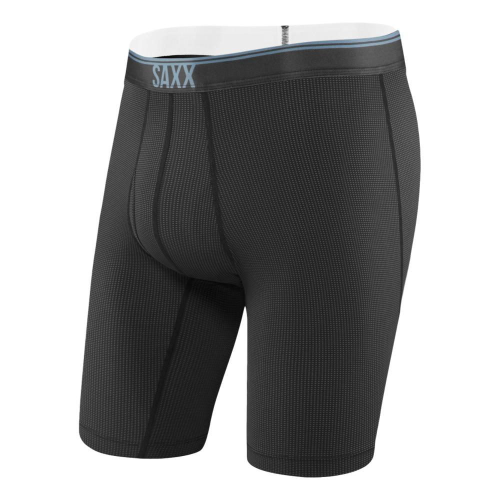 Saxx Men's Quest Long Boxer Briefs BLACK_BLK