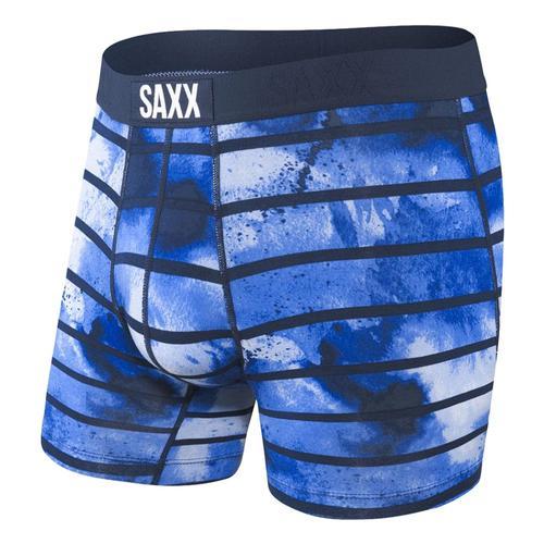 Saxx Men's Vibe Boxer Briefs Navyti_tdn